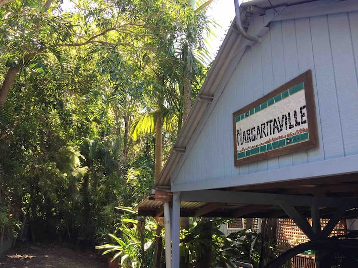 Margaritaville with ocean views in the treetops