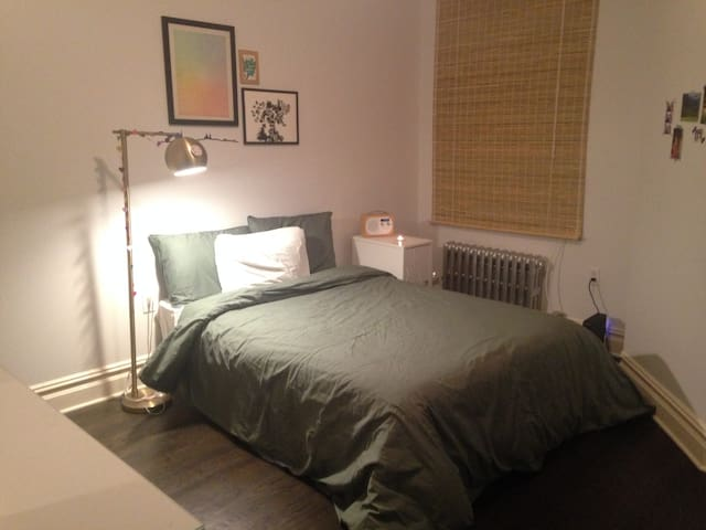Charming and quiet bedroom in Greenpoint, Brooklyn
