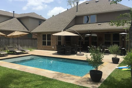 Nice house with pool - Tomball - Casa