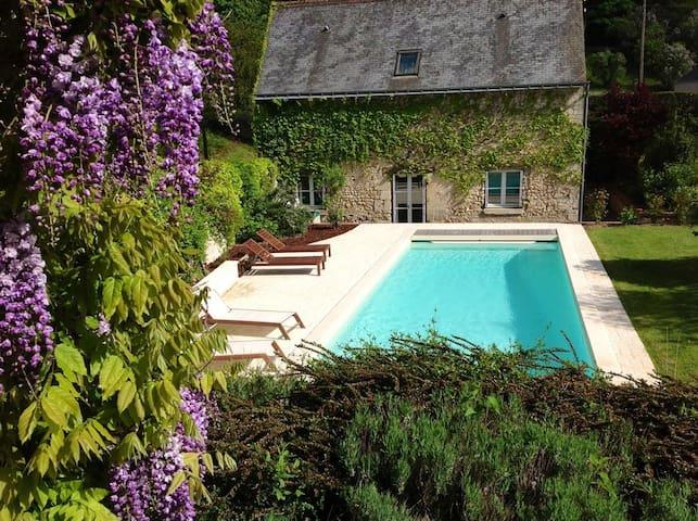La Collinière: maison XVIIe siècle - Vernou-sur-Brenne - Casa