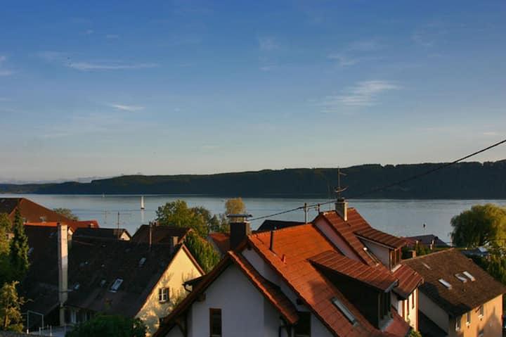 Haus Widenhorn, (Sipplingen), Ferienwohnung 2 mit 90qm, 2 Schlafzimmer, max. 4 Personen