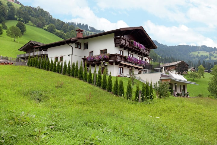 Inviting Apartment in Brixen im Thale with Sauna, Ski Storage
