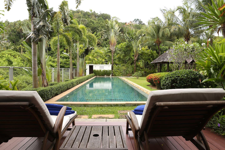 Bangtao Beach Gardens Villa - Houses for Rent in Tambon Choeng Thale ...
