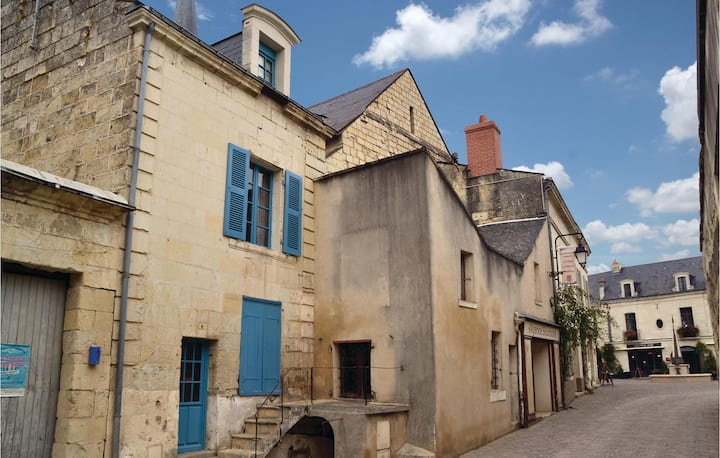 Stunning home in Fontevraud L'Abbaye with WiFi and 1 Bedrooms