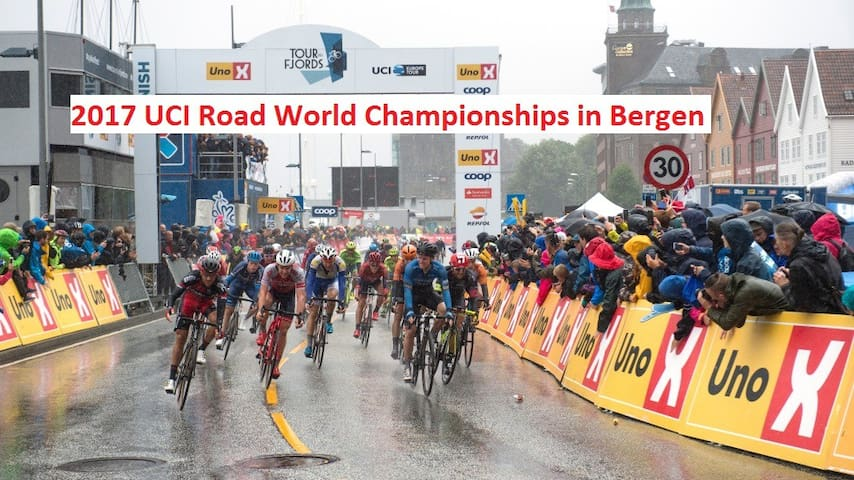 2017 UCI Road World Championships. Free parking - Bergen - Dům
