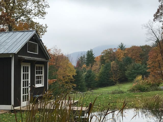 Catskill Mountain Camp Tiny House. Dog Friendly!