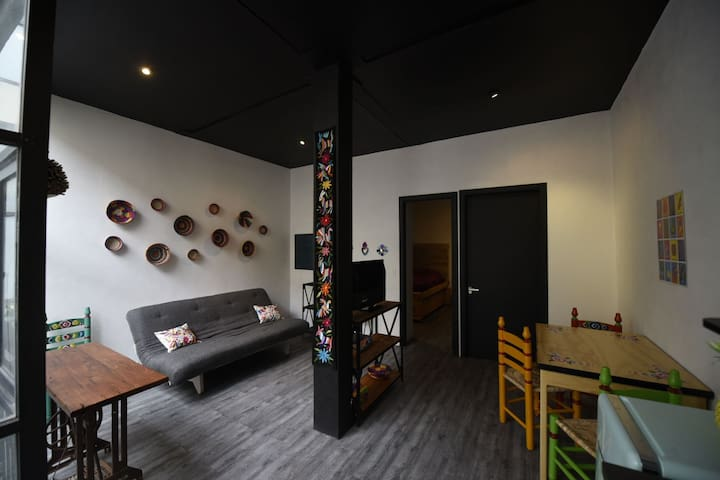 Beautiful mexican modern loft. 205