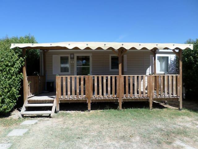 mobil home, trois chambres, 6 personnes - Courthézon - Bungalow