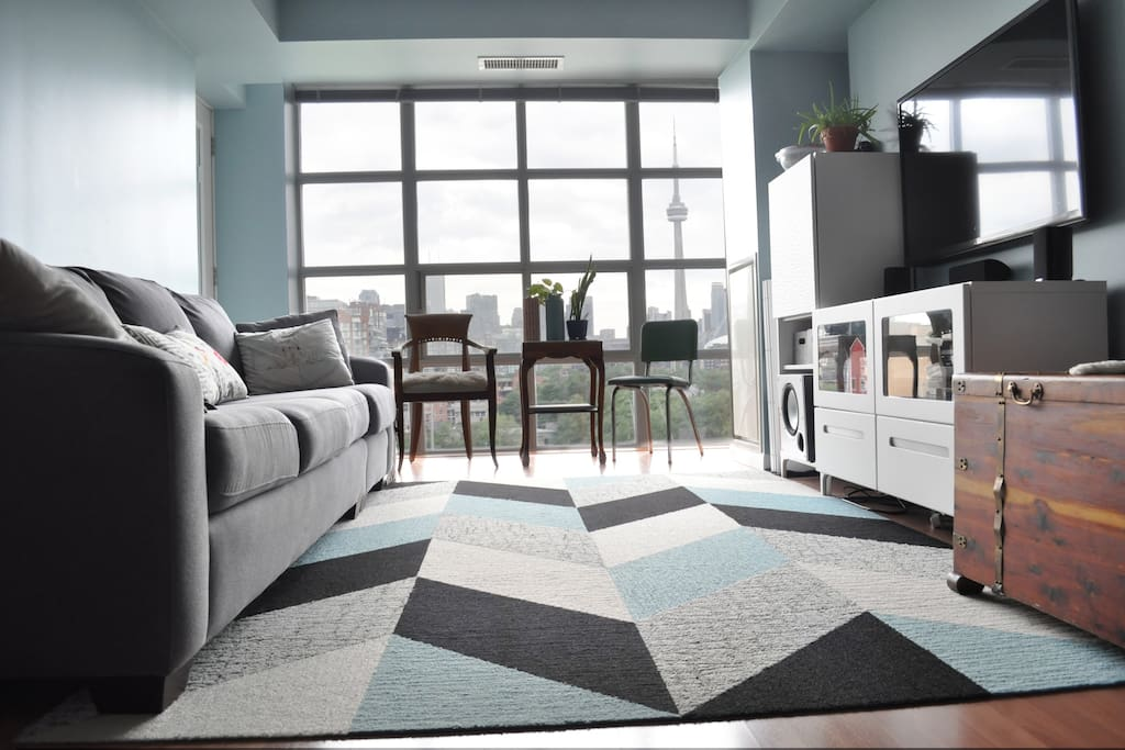 Living space - see the view?