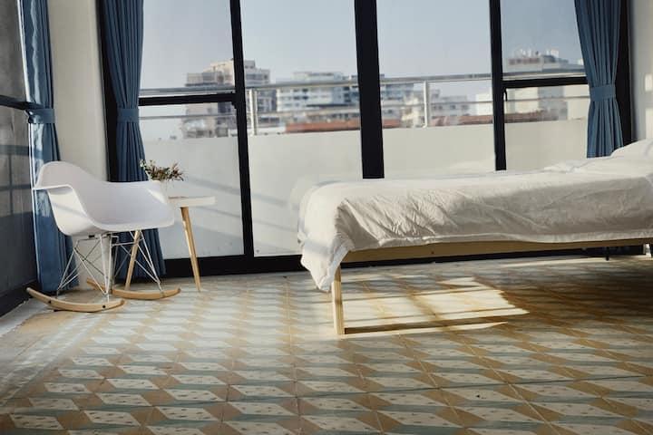 花砖房【安隆公寓】大阳台通透敞亮 出行便捷