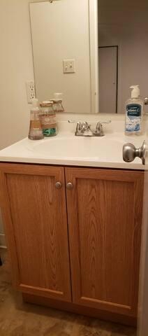 Half attic's bathroom