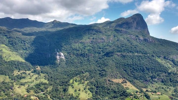 Canto do Jacarandá- Casa no Matutu, Aiuruoca-MG
