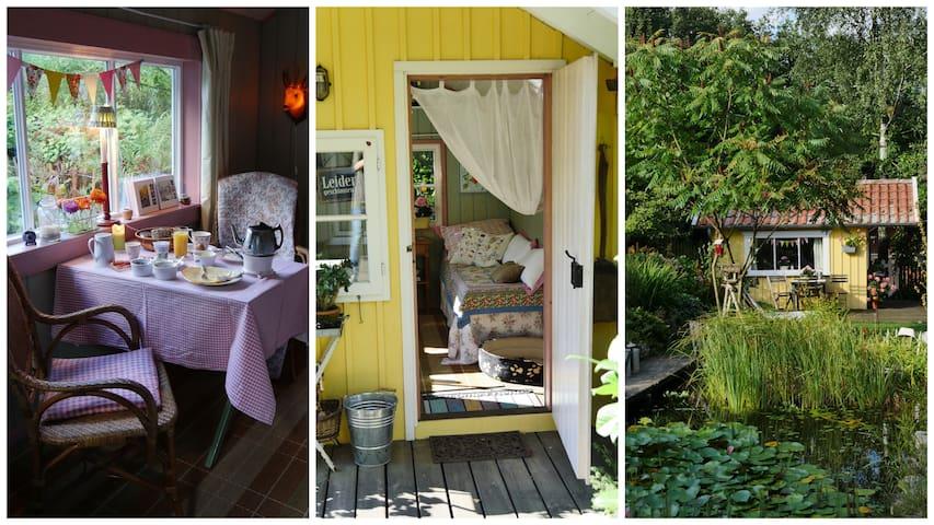 Katie'sHome *B&B* Gartenzimmer - Detmold - Blockhütte