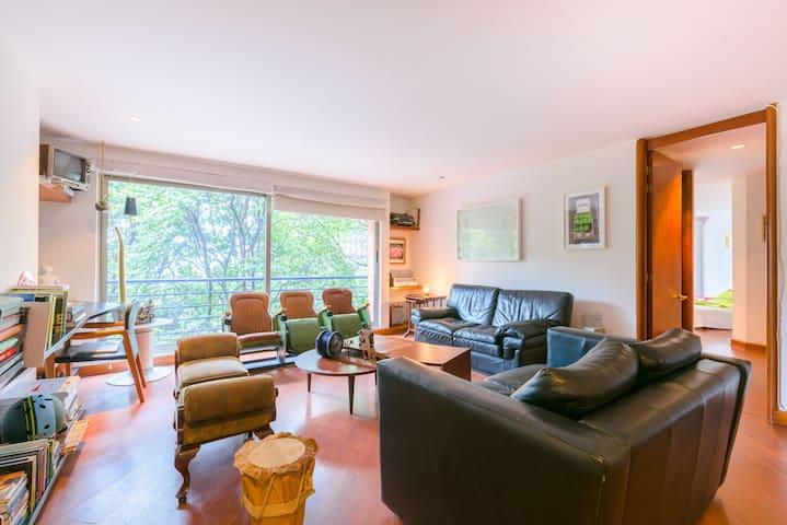 Sunny, family-friendly, Centered Flat in Bogotá - Bogota - Lägenhet