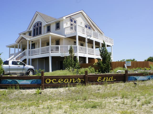 Gorgeous 6 BR,Private Pool,Hot Tub, Ocean View - Corolla - 獨棟