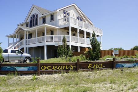 Gorgeous 6 BR,Private Pool,Hot Tub, Ocean View - Corolla