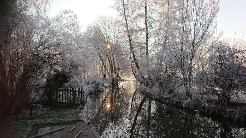 Alte Wassermühle ruhig und idyllisch gelegen