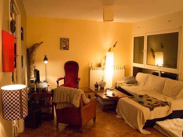 Merveilleux canapé-lit! - Soissons - Apartmen