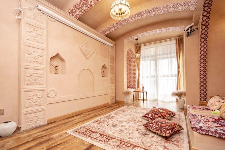 【疫情期间6折大促】【漫歇·伊斯坦布尔的余晖】近春熙路太古里|异域设计美学|土耳其异域风情一居