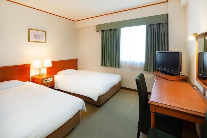 Plaza Hotel Premier/Twin Room, Non Smoking