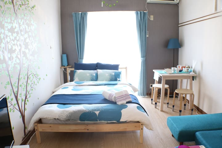Near DisneyResort small Room|MAX5|cozy place|WIFI - Urayasu-shi