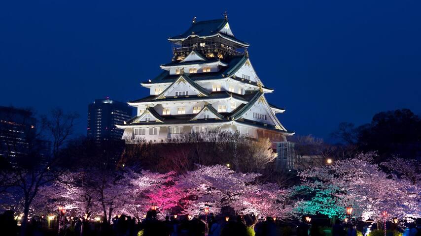 大阪城前屋民宿。202。歡迎多人數家庭旅遊、學生畢業旅行、少人數也歡迎 - 大阪市 - Haus