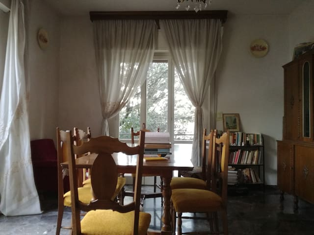 Living room/dining room (la sala)