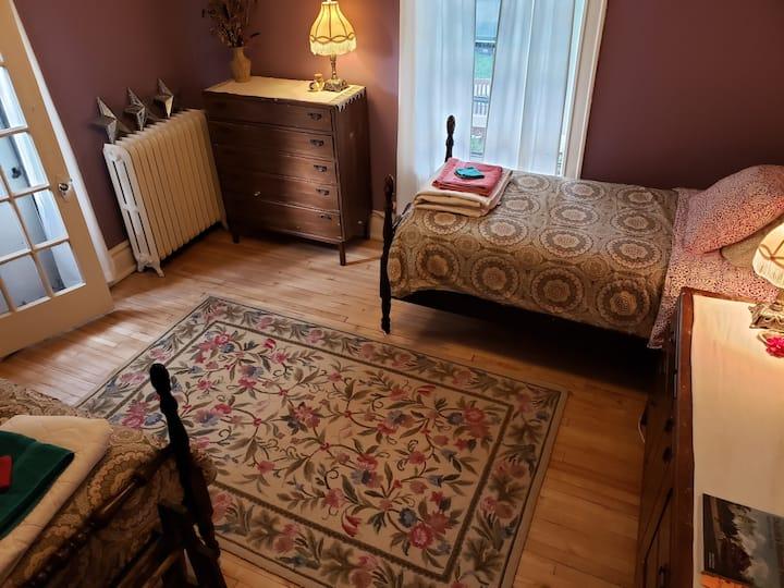Classic, original comfort in Lincoln Park ~ Room 1