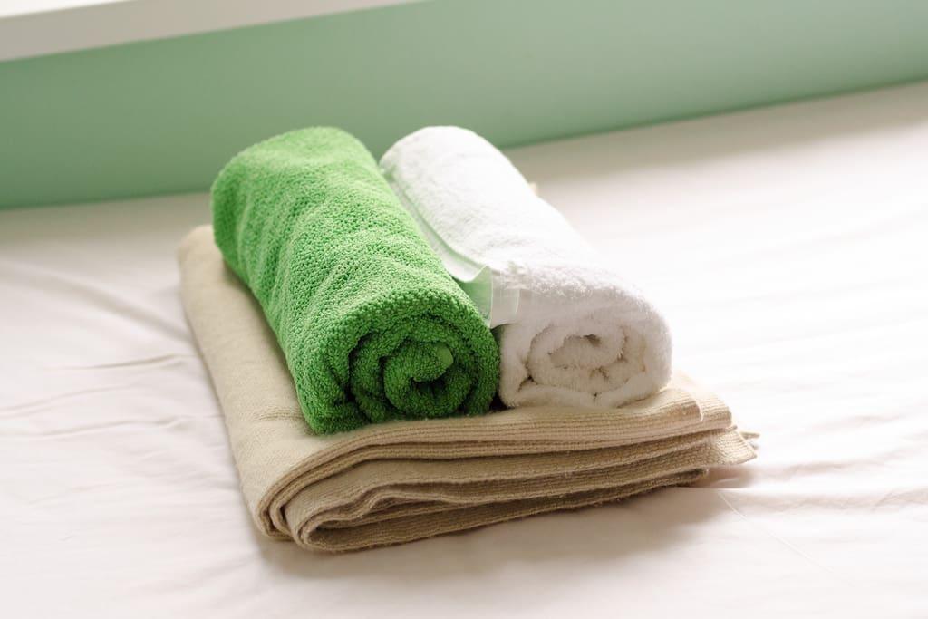 Всегда свежее постельное белье.