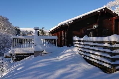 Private luxury Lodge & hot tub