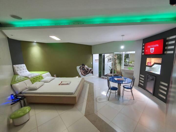 Privacidade conforto e serviço de quarto exclusivo