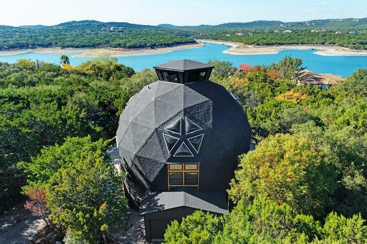 Sanitizer Private Getaway Geodome w/Lake view