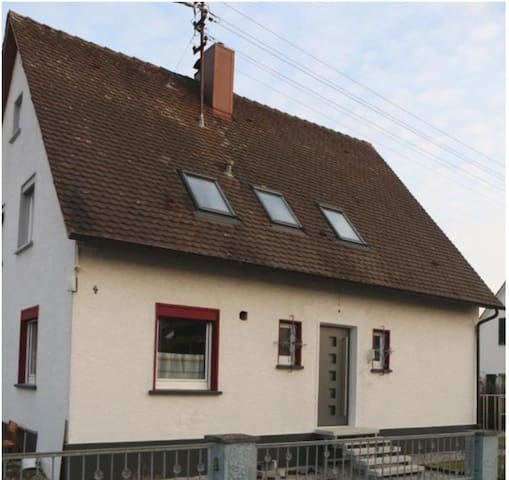 """Modern Apartment """"Tiny Ferienwohnung Markdorf"""" near Lake Constance with Wi-Fi & Garden; Parking Available"""