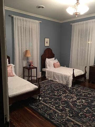 """Blue Room"" at The Wynne House Inn - Holly Springs"