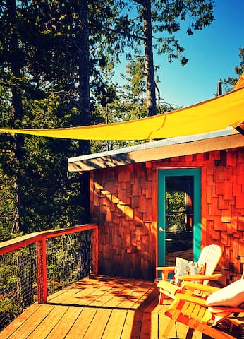 Out There - Off-grid Private Island, Yurt Room #1