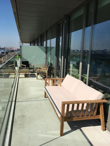 Very spacious and sunny apartment in Amsterdam! - Amsterdam - Apartemen