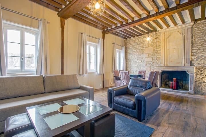 Appartement authentique dans le centre de Caen