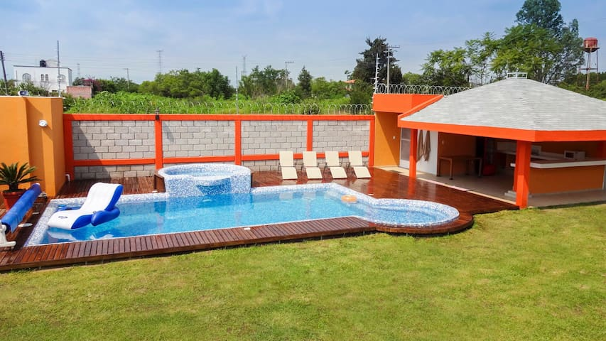 Casa con alberca en Cuautla Morelos - Cuautla, Morelos - Huis