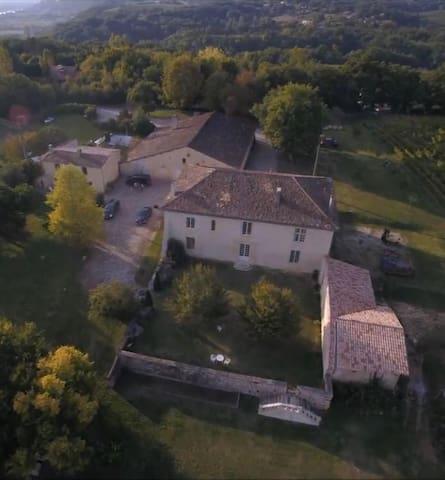 """Château Bessan - Chambre 2 """"Côté Cour"""""""