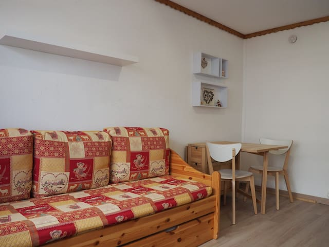 Studio of 17m² for 2 people in the heart of the resort