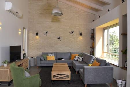 Beautiful  family house in a kibbutz