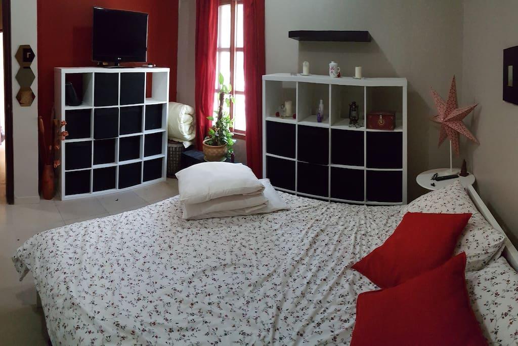 alternate view of the bedroom
