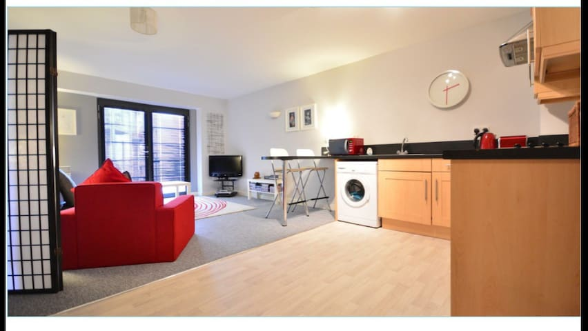 Self contained Modern apt - Nottingham - Huoneisto