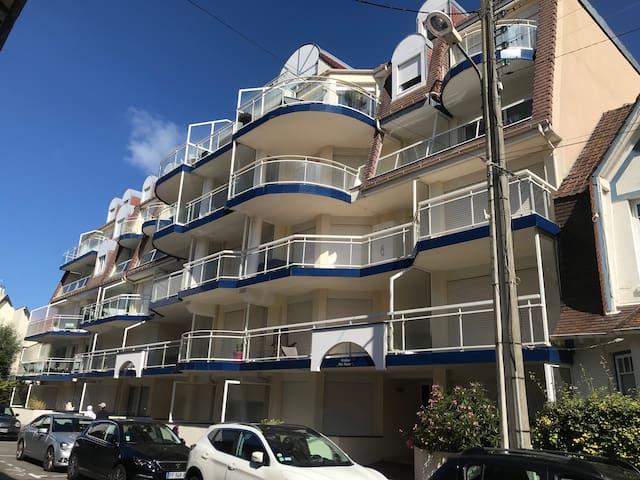 Appartement lumineux, Touquet centre