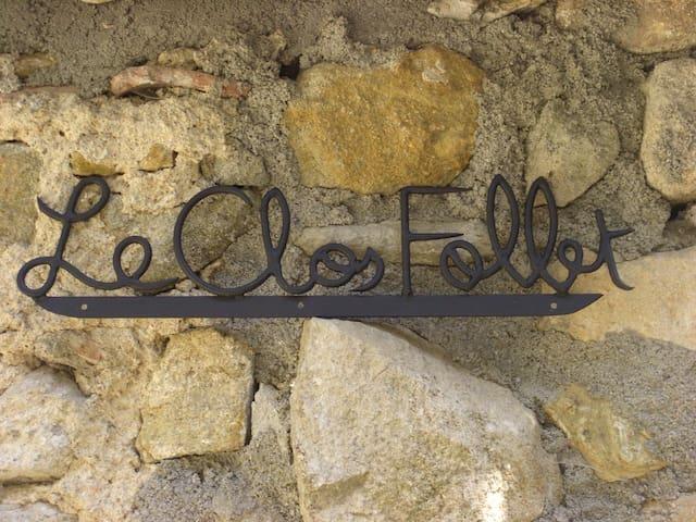 Le Clos Follet - La Ribeyre - Les Assions - Ferienunterkunft