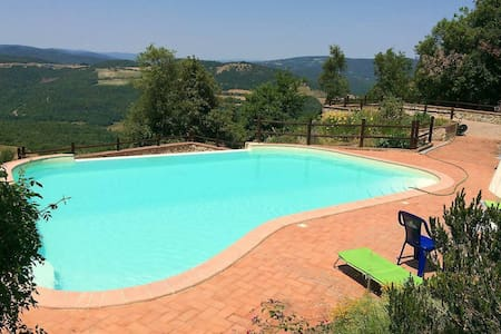 Emotions of Maremma - Pool and Panorama