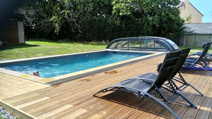 "Gîte *** ""La Grange"" accès piscine"