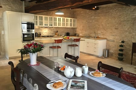 Chez Montrachet, all new, superb 3 bdrm/3.5 bath - Puligny-Montrachet