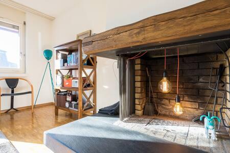 Charming apartment - central Zurich - Zurique - Apartamento