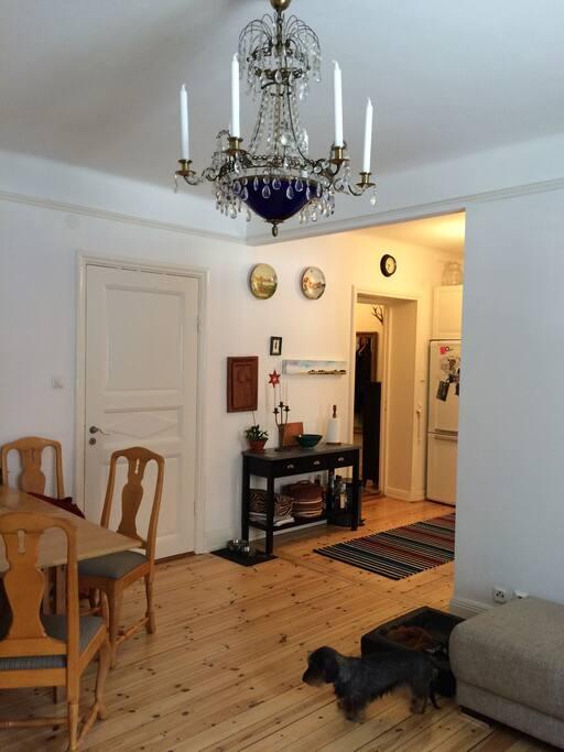 Vardagsrummet kök